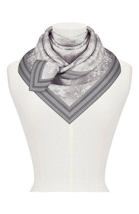 Женский шелковый платок dioriviera toile de jouy DIOR серого цвета, арт. 91JOU090I601C818 | Фото 2