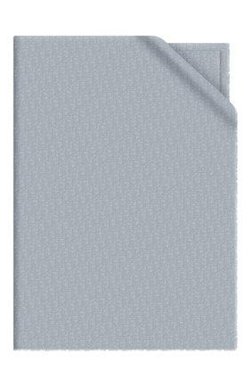 Мужские кашемировый шарф dior oblique DIOR синего цвета, арт. 01CDO300A050C517   Фото 1