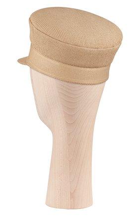 Женская хлопковая кепи dior DIOR бежевого цвета, арт. 02DCP920A140C100 | Фото 2