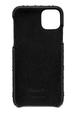 Мужской кожаный чехол lady dior для iphone 11 pro max DIOR черного цвета, арт. S0742ONMJM900 | Фото 2