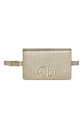 Женская поясная сумка 30 montaigne DIOR золотого цвета, арт. S2086OSKCM07J   Фото 1