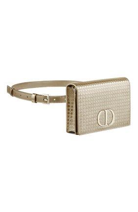 Женская поясная сумка 30 montaigne DIOR золотого цвета, арт. S2086OSKCM07J   Фото 2