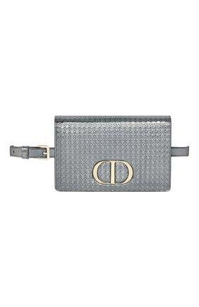 Женская поясная сумка 30 montaigne DIOR серого цвета, арт. S2086OSKCM26L   Фото 1