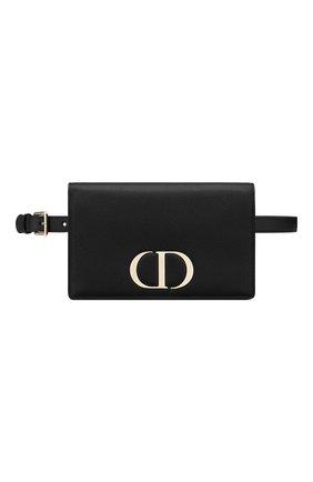 Женская поясная сумка 30 montaigne DIOR черного цвета, арт. S2086OWBHM900   Фото 1