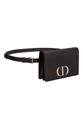 Женская поясная сумка 30 montaigne DIOR черного цвета, арт. S2086OWBHM900   Фото 2