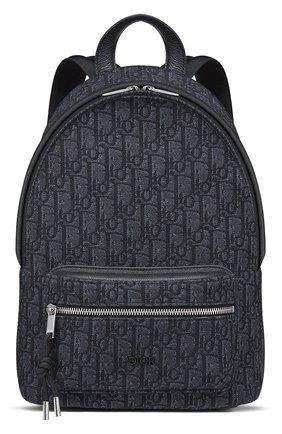 Детская рюкзак oblique DIOR синего цвета, арт. 1VOBA095YKYH00N | Фото 1