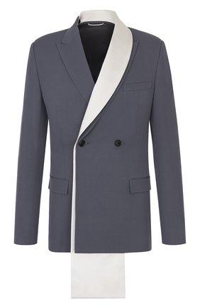 Мужской шерстяной пиджак DIOR серого цвета, арт. 023C246A4739C881 | Фото 1