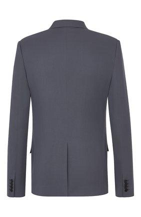 Мужской шерстяной пиджак DIOR серого цвета, арт. 023C246A4739C881 | Фото 2