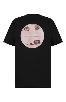Мужская хлопковая футболка DIOR черного цвета, арт. 023J615C0554C984 | Фото 2
