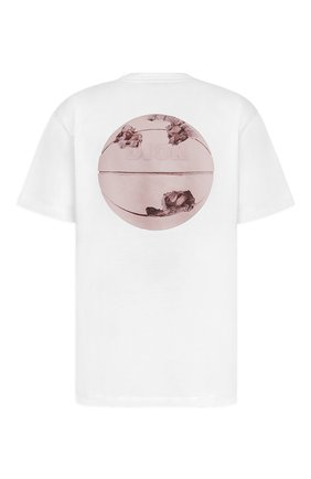 Мужская хлопковая футболка DIOR белого цвета, арт. 023J615C0554C084 | Фото 2