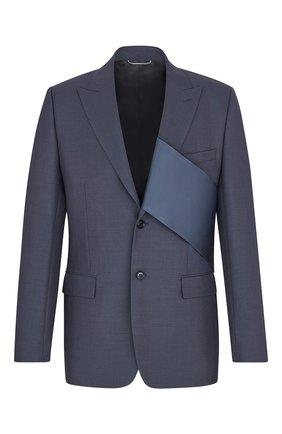 Мужской шерстяной пиджак DIOR серого цвета, арт. 023C249A4441C888 | Фото 1
