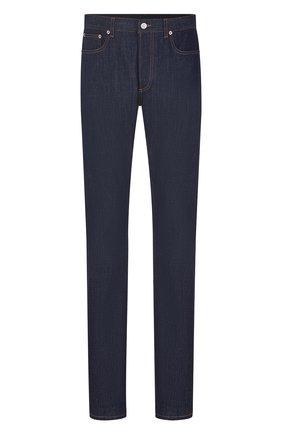 Мужские джинсы DIOR темно-синего цвета, арт. 013DS00D226XC580 | Фото 1