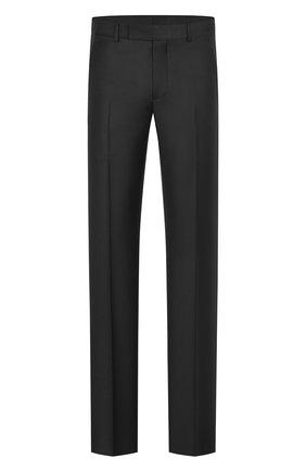 Мужской шерстяные брюки DIOR черного цвета, арт. 013C120A4747C900 | Фото 1