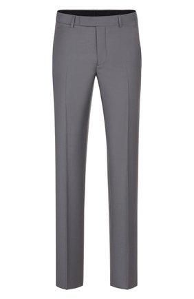 Мужской шерстяные брюки DIOR серого цвета, арт. 013C120A4747C830 | Фото 1