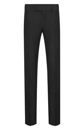 Мужской шерстяные брюки DIOR черного цвета, арт. 013C120A4441C900 | Фото 1