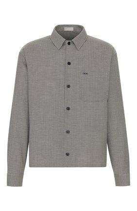 Хлопковая куртка-рубашка | Фото №1
