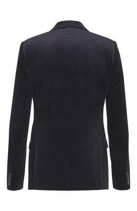 Мужской хлопковый пиджак DIOR черного цвета, арт. 923C201A4542C900 | Фото 2