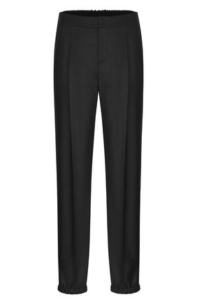 Мужской шерстяные брюки-джоггеры DIOR черного цвета, арт. 013C112A4747C900 | Фото 1