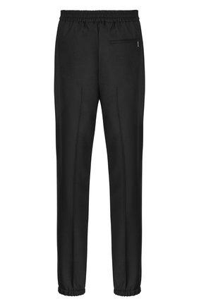 Мужской шерстяные брюки-джоггеры DIOR черного цвета, арт. 013C112A4747C900 | Фото 2