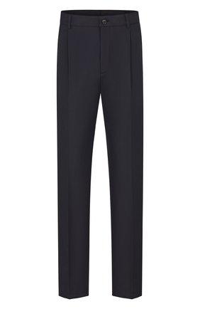 Мужской хлопковые брюки DIOR темно-синего цвета, арт. 023C134A4451C541 | Фото 1