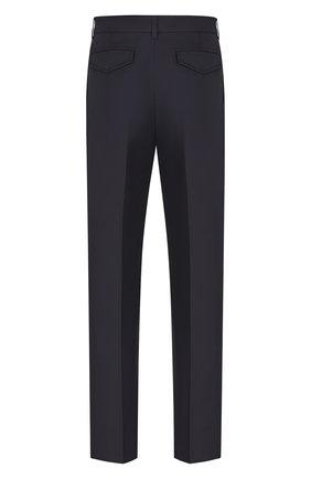 Мужской хлопковые брюки DIOR темно-синего цвета, арт. 023C134A4451C541 | Фото 2