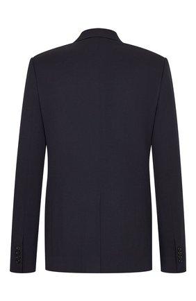 Мужской шерстяной пиджак DIOR темно-синего цвета, арт. 023C254A4739C540 | Фото 2