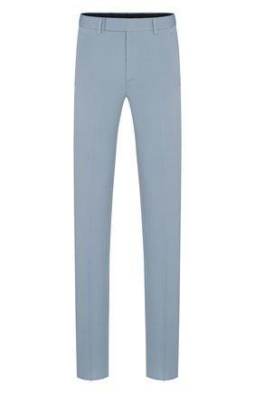 Мужской шерстяные брюки DIOR серого цвета, арт. 013C120A4739C820 | Фото 1