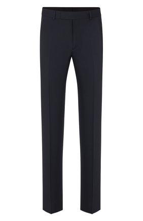 Мужской шерстяные брюки DIOR темно-синего цвета, арт. 013C120A4739C540 | Фото 1