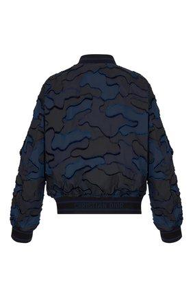 Женский бомбер camouflage DIOR синего цвета, арт. 017C14A2960X5830 | Фото 2