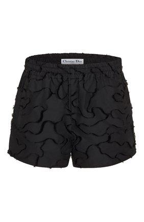 Женские шорты camouflage DIOR черного цвета, арт. 027P21A2960X9000 | Фото 1