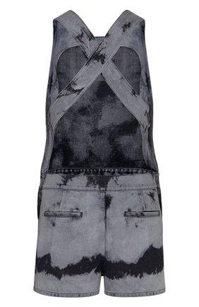 Женский джинсовый комбинезон tie & dior DIOR черного цвета, арт. 022E04A3154X9374 | Фото 2