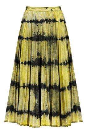 Женская джинсовая юбка tie & dior DIOR желтого цвета, арт. 022J04A3158X2868 | Фото 1