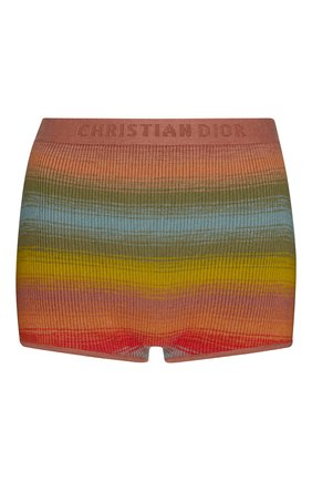 Женские шорты dioraura из смеси шерсти и шелка DIOR разноцветного цвета, арт. 024E63AM308X9641 | Фото 1