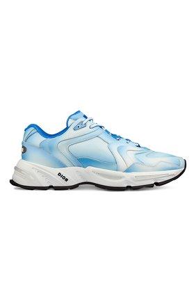 Мужские кожаные кроссовки cd1 DIOR синего цвета, арт. 3SN260YURH560 | Фото 1