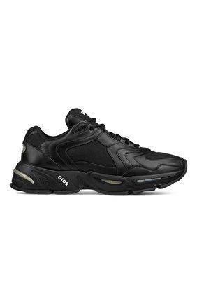 Мужские кожаные кроссовки cd1 DIOR черного цвета, арт. 3SN260YXBH968 | Фото 1