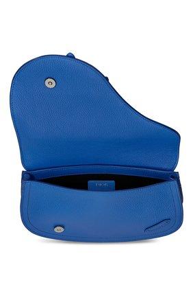 Мужская кожаная сумка saddle DIOR синего цвета, арт. 1ADPO095YMJH56E | Фото 2