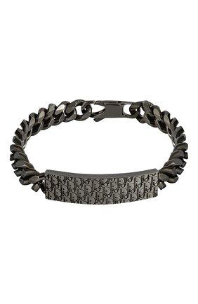 Мужской браслет DIOR серого цвета, арт. B1112HOMMTD005 | Фото 1