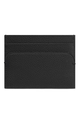 Мужской кожаный футляр для кредитных карт DIOR черного цвета, арт. 2DSCH100YVHH00N | Фото 2