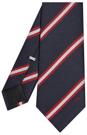 Мужской шелковый галстук DIOR синего цвета, арт. 01C1047A0256C583 | Фото 2