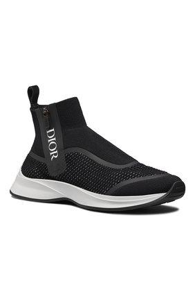 Мужские текстильные кроссовки b23 DIOR черного цвета, арт. 3SH124YUGH960 | Фото 2