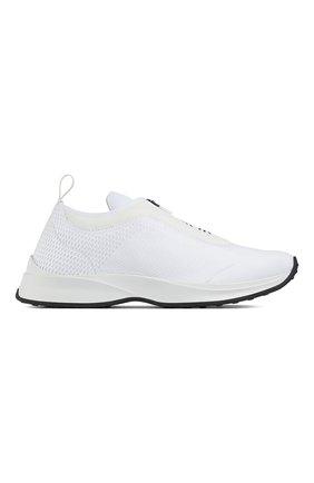 Мужские текстильные кроссовки b25 DIOR белого цвета, арт. 3SN258YTQH000 | Фото 1