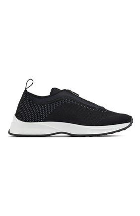 Мужские текстильные кроссовки b25 DIOR черного цвета, арт. 3SN258YTQH960 | Фото 1