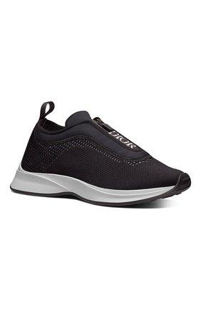 Мужские текстильные кроссовки b25 DIOR черного цвета, арт. 3SN258YTQH960 | Фото 2