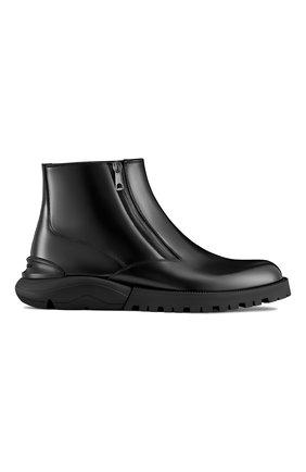 Мужские кожаные сапоги DIOR черного цвета, арт. 3BO229YOCH900 | Фото 1