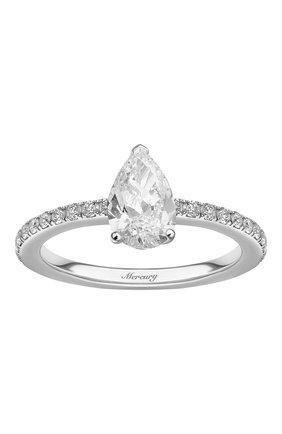 Женские кольцо MERCURY белого золота цвета, арт. MR100WPDD/1 | Фото 2