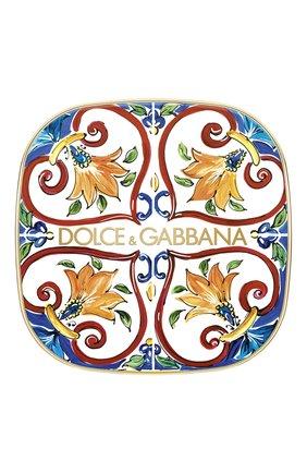 Женские румяна-хайлайтер для лица solar glow, 3 golden sand DOLCE & GABBANA бесцветного цвета, арт. 3052550DG | Фото 2
