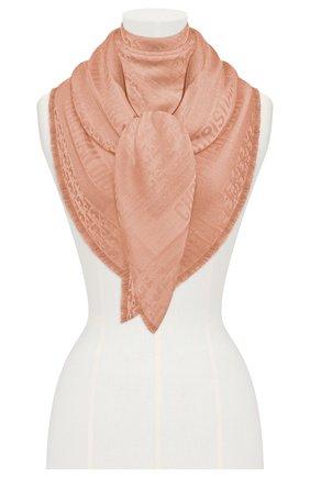 Женский платок dior oblique DIOR розового цвета, арт. 02CDO140A651C418 | Фото 2
