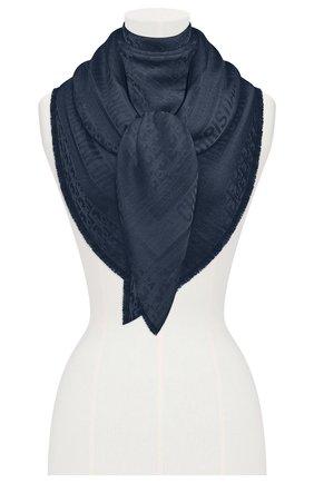 Женский платок dior oblique DIOR темно-синего цвета, арт. 02CDO140A651C540 | Фото 2