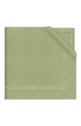 Женский платок dior oblique DIOR зеленого цвета, арт. 02CDO140A651C617 | Фото 1