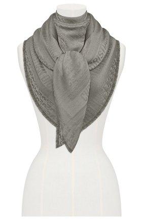 Женский платок dior oblique DIOR серого цвета, арт. 02CDO140A651C818 | Фото 2